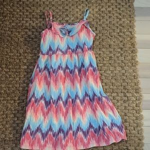 Girls cotton dress. Never wore. No tags